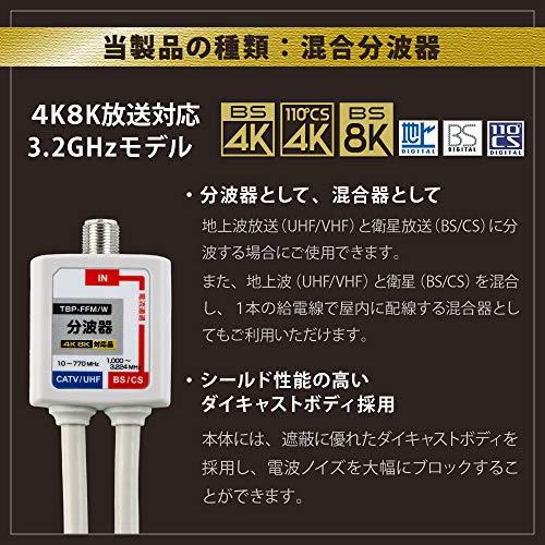 YOU+『4K8K対応アンテナ分波器』