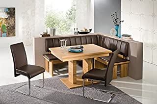 The Falco Dining Set made with European standard leatherette. A modern designed breakfast nook