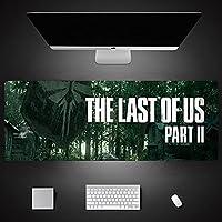 The Last of Us ラストオブアスマウスパッド ゲーミングマウスパッド大型特大マウスマット輝くマウスパッド、タッチコントロール、コンピューターキーボードマウスパッド用ゲーマーラップトップ -