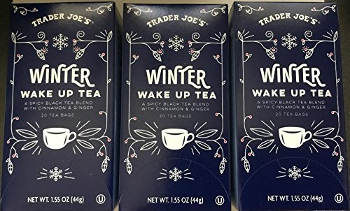 Trader Joe's Winter Wake Up Tea 20 tea bags (Pack of 3 bxs)