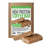 Protein Coffee Energy Bar, Made with Five Simple Ingredients, All Natural, Gluten Free, Non GMO &...