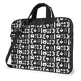 15.6' Portable Laptop Bag Sleeve -Gamepads - Laptop Sleeve Briefcase For Chromebook Notebook Tablet