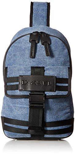 Diesel Men's Bag M-CAGE Mono-Backpack, peacoat blue/black, One Size
