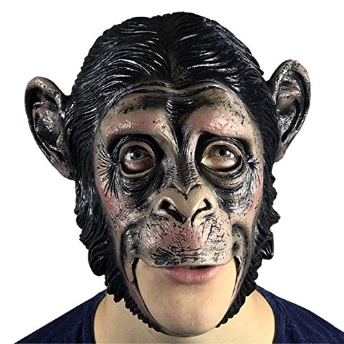 Eurrowebb Aap Masker van latex – Accessoires kostuum party artikel