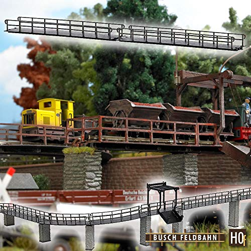 Busch 12385 H0 f 2 Feldbahn-Brücken gerade