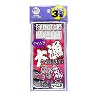 TAKAMIYA(タカミヤ) 大漁ケイムラサビキ 針5号-ハリス1号 TF13 ケイムラ