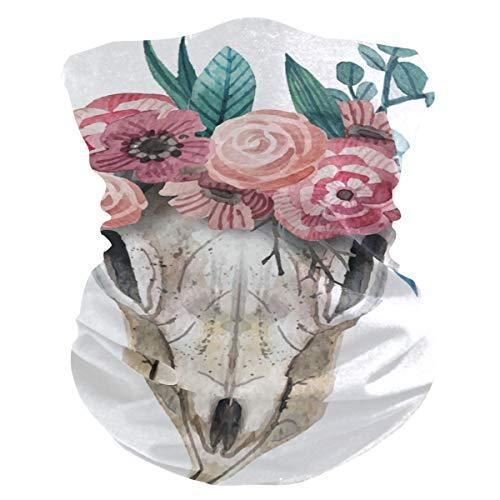 CherryLove Bandana gezichtsmasker hoofd dragen Mens Balaclava, Fietsen sjaal Anti Stof Mond Masker Sjaal Gezicht Beschermende Wind Balaclava voor Mannen Vrouwen Ademende Koeling Gezicht Sjaal Cover Geit Schaap Schedel