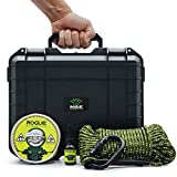 ROGUE Magnetics Magnet Fishing Kit: Beast Box 1,200 lb Pulling Force Super Strong Neodymium Fishing Magnet with Countersunk Hole and Eyebolt, 65 ft Nylon Rope, Carabiner, Threadlocker and Carry Case