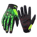 Guantes de ciclismo con dedos completos para pantalla táctil con antideslizante y resistente al desgaste, guantes para bicicleta de montaña, guantes deportivos al aire libre para hombres y mujeres