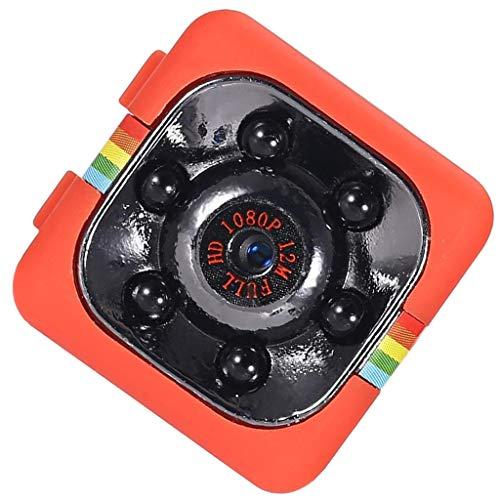 B Blesiya Cámara de Seguridad del Coche de La Detección de Movimiento de Los Deportes HD para El Video de DV 120 ° Deg - Rojo