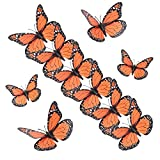yalansmaiP 15 PCS Monarch Butterfly Decorations 3D...