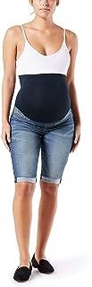Women's Maternity Mid-Rise Skinny Shorts