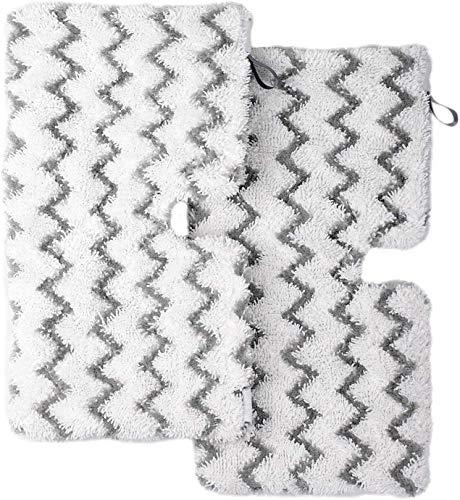 Deals2u365 6 x Microfibre Floor Cover Pads for BUSH SMB1501UK SMB1501 Steam Cleaner Mop