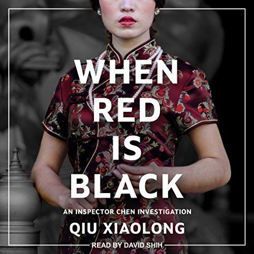 When Red Is Black audiobook cover art