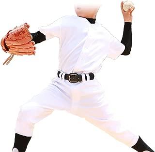 ジュニア 軽くて動きやすいらくらく洗濯 野球 ユニフォーム 上下セット ヒザ2重