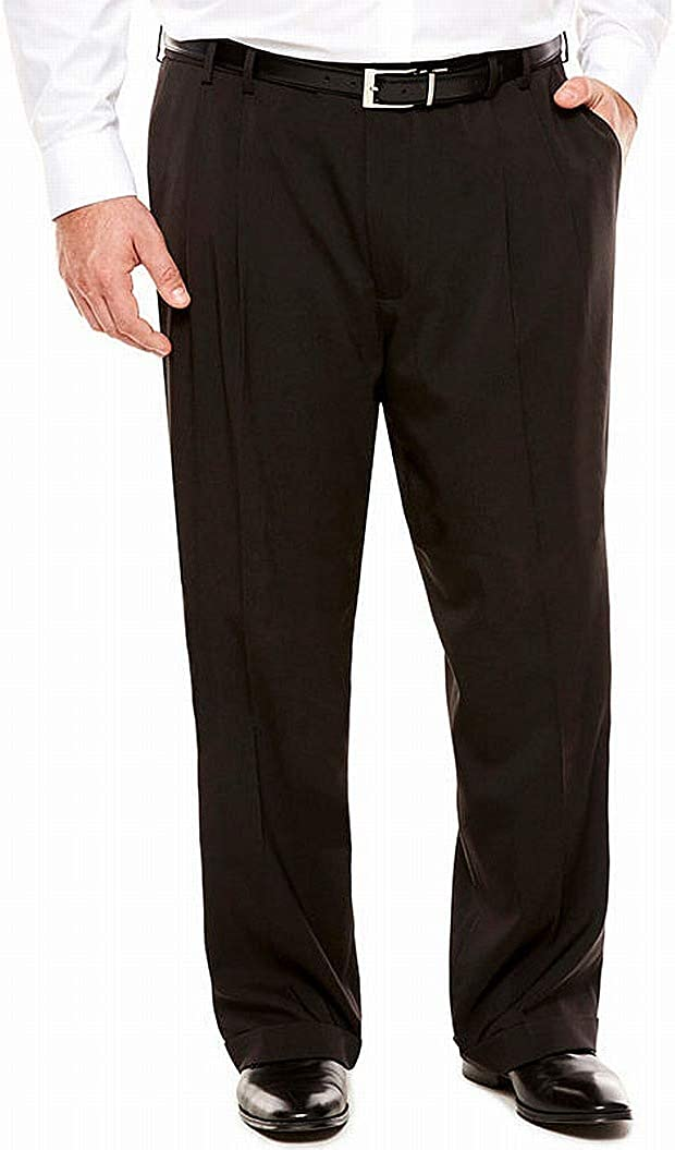Van Heusen online shopping Men's Big and Tall Dress Traveler Pan All items free shipping Stretch Pleated