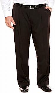 Van Heusen Men's Big and Tall Traveler Stretch Pleated Dress Pant