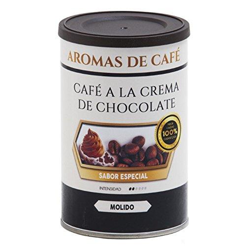 Aromas de Café - 100% arabischer Schokoladenkaffee, geröstete Kaffeebohnen im Stück, mit Schokoladengeschmack, Intensiv Weich und Intensiv, 100 gr