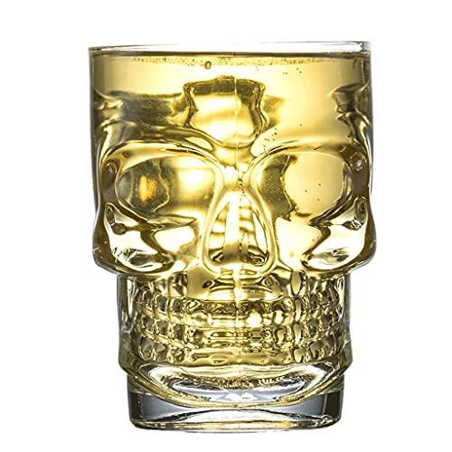 Taza De Cerveza con Cráneo De Cristal De Mango, Vidrio De Cerveza Grande Creativo, Taza De Cerveza Personalizada para Hombres, para El Restaurante Home, Bar Party