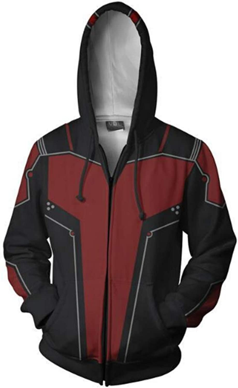 - jfgjhj Movie Deadpool 2 Zip Hoodie Hoodie Hoodie Casual Hooded Coat 3D Red Unisex Cosplay Sweatshirts -AY8 60ba1d