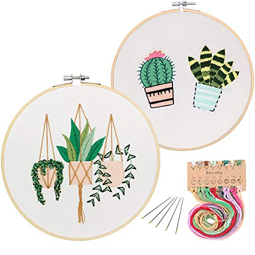 2 Pack Embroidery Starter Kit with...