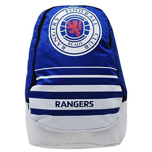 Rangers FC - Mochila Swoop oficial del equipo (Talla Única) (Azul/Blanco/Rojo)
