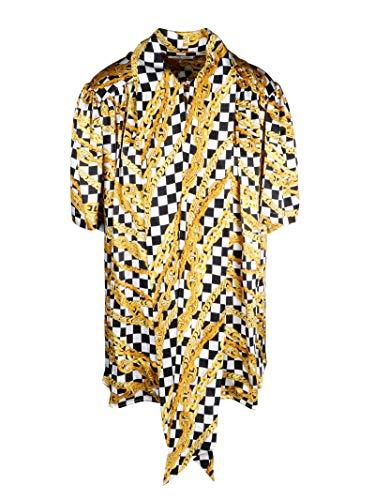 Luxury Fashion | Balenciaga Dames 602571TGL101070 Goud Zijde Blouses | Lente-zomer 20
