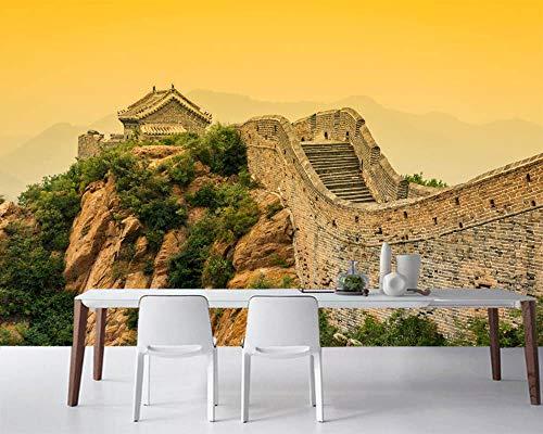 Mural 3D creativo China Gran Muralla HD Wallpaper Art Sala de estar dormitorio Tratamientos de pared Decoración del hogar Tv Photo Wall Paper 200x140CM