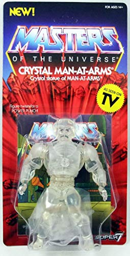 Masters of the Universe Vintage Collection Action Figure Wave 3 Crystal Man-at-Arms 14 cm