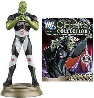 DC Superhero Brainiac Black Pawn Chess Piece with Magazine