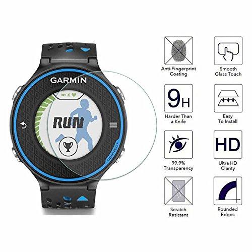 YANSHG® Für Garmin Approach S6 Watch gehärteter Glasschutz, Anti-kratzen Ultra Clear 9 Uhr gehärtetem Glas Protektor
