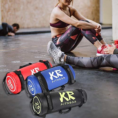 smilerr 25 kg / 30 kg Sandsack Training Gefüllter Gewicht Sand Power Bag, gewichtsverstellbarer Fitness Powerbag Sandsack, zum Gewichtheben, Laufen, Sport und Powerlifting