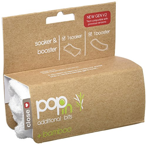 Close pop-in luiers - Soaker & Booster (+Bamboo) V2 - Snowball