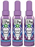 Air wick spray v. I. Poo perfume anti olor, fragrancia lavanda superstar 55 ml - paquete de 3 unidades