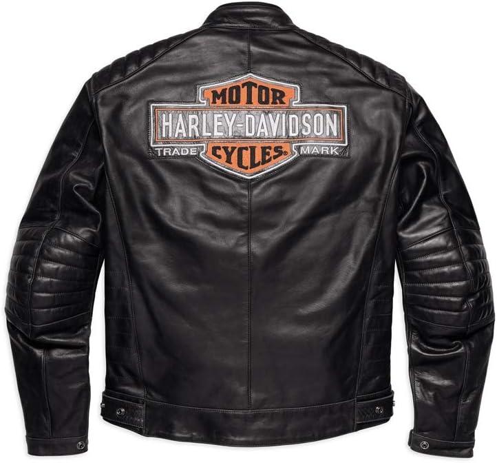 Harley Davidson Legend Leder Jacke 98125 17em M Auto