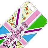 Vahalla accessori custodia per iPhone 6Plus/iPhone 6S Plus Gel UK KEEP CALM