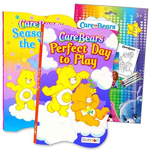 Care Bears Board Book Activity Set with Stickers, Crayons, and Care Bears Activity Book for Kids (Care Bears Board Books)