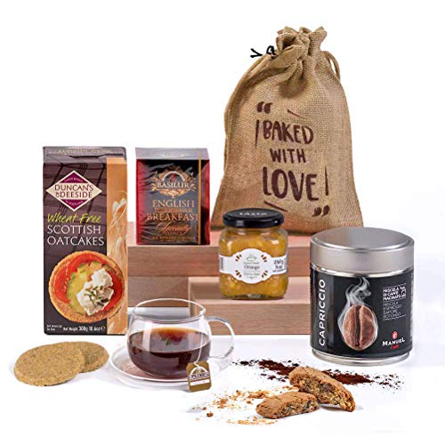 Hay Hampers Luxury Breakfast Hamper Box - Guaranteed in Time for Mother's Day Free UK Delivery