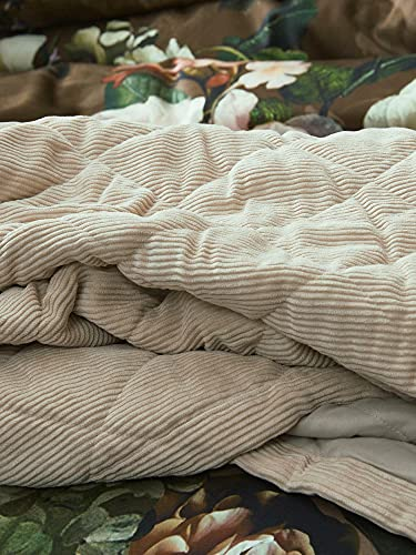 ESSENZA Quilt Billie Uni Polyester Meringue, 220x265 cm