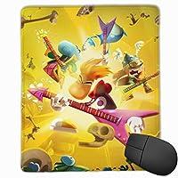 レイマン レジェンド (10) ゲーム用ミニマウスパッドは 流行 マウスパッド 水洗い 滑り止め 耐久性が 使い心地もマウス用パッド キーボードパッド デスクマット (サイズ:250×300×3mm) オフィス/サイバーカフェなど適用