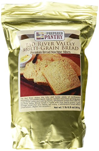 The Prepared Pantry Red River Valley Settlers Multi-Grain Bread Mix; Single Pack; For Bread Machine or Oven