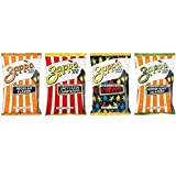 Zapp's New Orleans Kettle-Style Potato Chips, Includes Regular, Voodoo, Cajun Crawtator and Jalapeno Chips ( 25 Count),Variety Pack