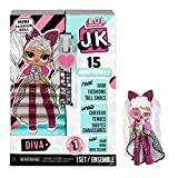 MGA Entertainment L.O.L. Surprise! JK Diva Mini Fashion Doll with 15...