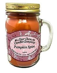 creative handmade gifts for girlfriend ~ pumpkin spice candle