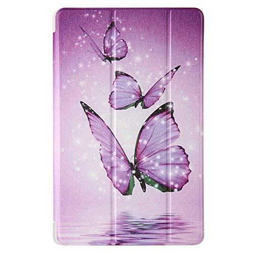 RZL Pad y Tab Fundas para Samsung Galaxy Tab A 7.0 T280 T285 8.0 T290 T295 10.1 2019 T510 T515, Soporte Trasero a Prueba de Golpes Tablet Funda de impresión Floral para Samsung Galaxy Tab A 7.0