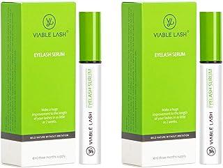 Eyelash Growth Serum Eyebrow Enhancer Natural Lash Booster Eyelash Extension for Longer Fuller Thick Lash, Lash Accelerato...