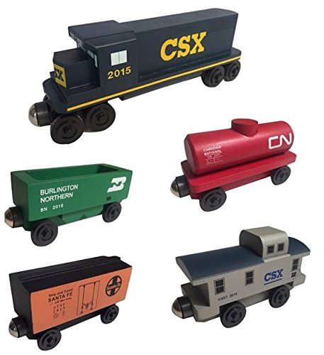 CSX Railway GP-38 Diesel 5pc. Set -by Whittle Shortline Railroad - Manufacturer