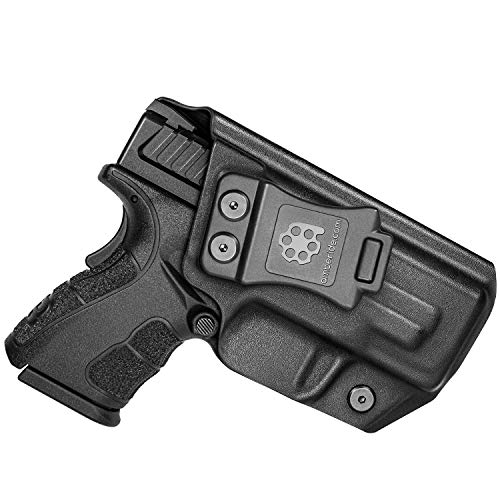Amberide IWB KYDEX Holster Fit: Springfield XD MOD.2-3' Sub-Compact...