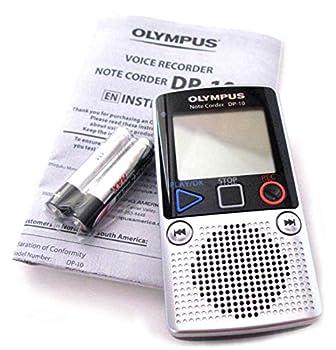 Olympus DP-10 Digital Voice Recorder 142640  Silver   Renewed