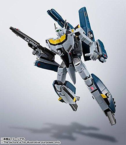 Premium Bandai HI-METAL R VF-1S Macross Strike Valkyrie ROY FOCKER + Tamashii Nation Stage